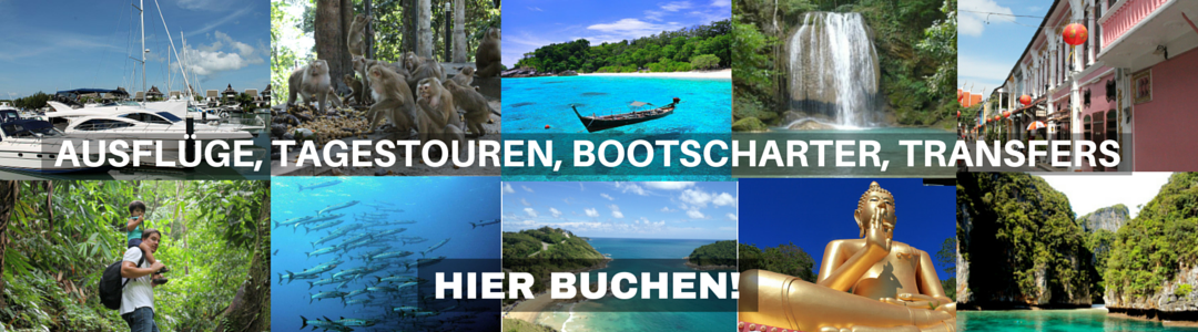Ausflüge Touren Transfers buchen Phuket