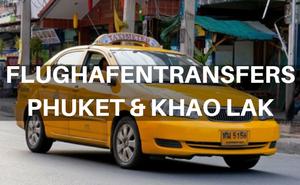 flughafentransfer phuket khao lak
