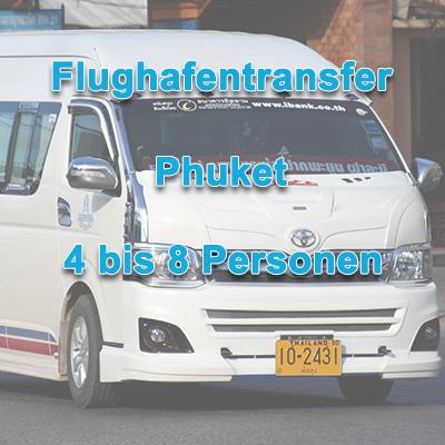 Flughafen Transfer Phuket 4-8