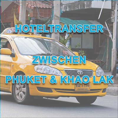 Hoteltransfer Phuket Khao Lak