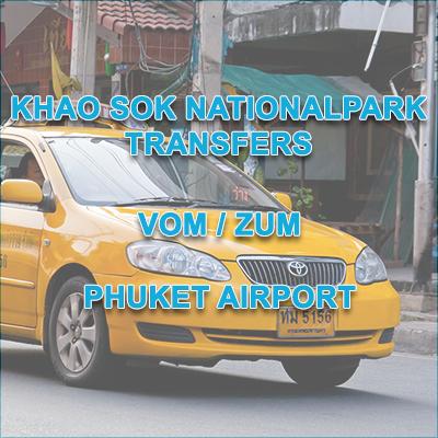 Khao Sok NP Transfers